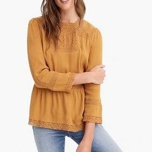 {J. Crew} Point Sur Top